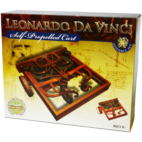 Leonardo da Vinci's Self-Propelled Cart Model