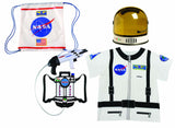 Astronaut Kit - Includes Youth Helmet, Space Pack, Drawstring Backpack & Shirt by Aeromax