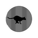 Running Cat - Large 11 Inch CineSpinner - Animated Suncatcher