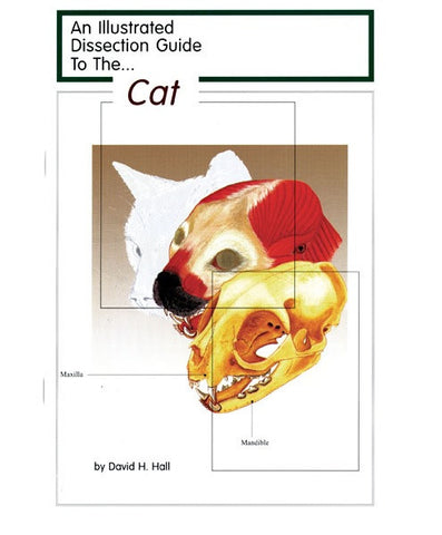 Illustrated Dissection Guide Book to the Cat, David Hall