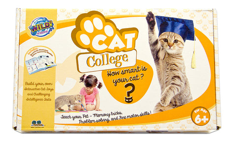 Pet Science Cat College Kit by Wild Science
