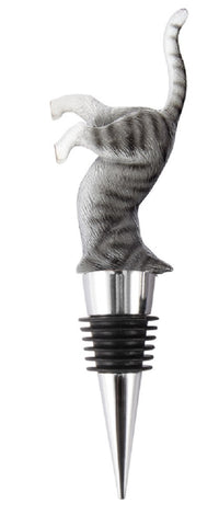 Cat Wine Bottle Stopper - Bar or Kitchen Tool Gadget
