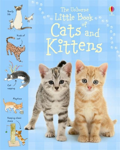 Little Book of Cats and Kittens by Usborne: Mini Edition