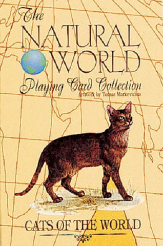 CATS of the Natural World Deck of Art Playing Cards