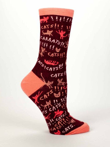 Cats! Women's Dress Socks by Blue Q