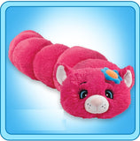 Flower Squiggly Cat BodyPillar by Pillow Pets