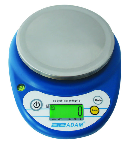 CB 1001 Multi-Use Compact Scale w/1000g Capacity - by Adam Equipment