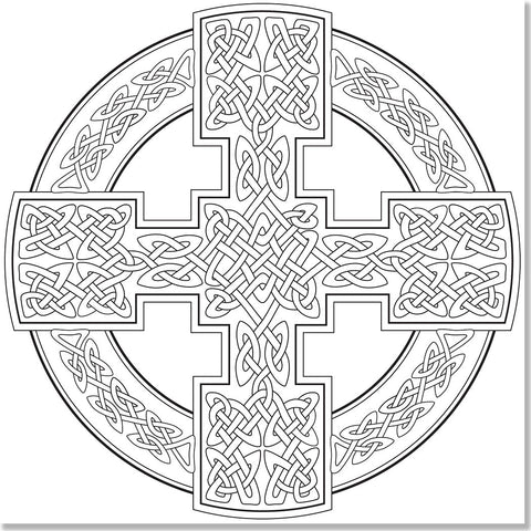 celtic designs adult coloring book studio series by peter pauper press - Celtic Coloring Book