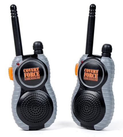 Covert Force Extreme Tactical Gear Long Range Walkie Talkies