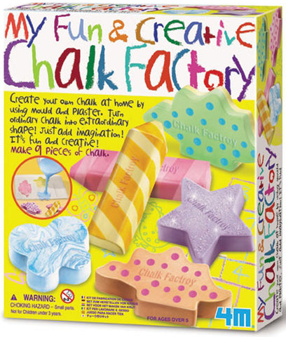 My Fun & Creative Chalk Factory 4M Kit By Toysmith