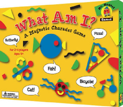 What Am I Magnetic Charades Game Ages 4+