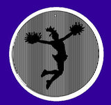 5.5 Inch Jumping Cheerleader-CineSpinner-Animated Suncatcher