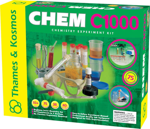 Thames & Kosmos CHEM C1000 Beginner Experiment Kit