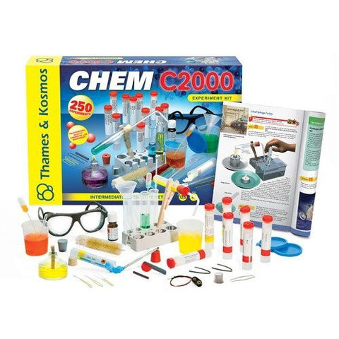 Thames & Kosmos CHEM C2000 Intermediate Experiment Kit