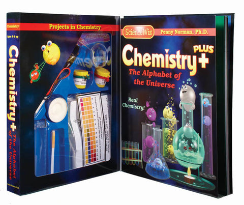 Science Wiz: Chemistry Plus Experiment Kit for Ages 8+