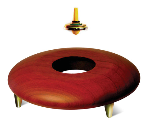 Levitron Amazing Anti-Gravity Top Cherry Wood