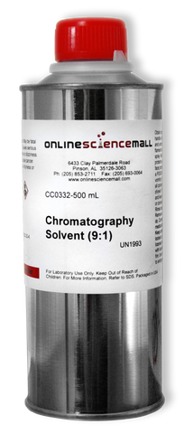 Chromatography Nonpolar Solvent - Petroleum Ether / Acetone (9:1), 500mL - Chemical Reagent