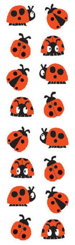 Mrs Grossman's Stickers - Chubby Ladybugs