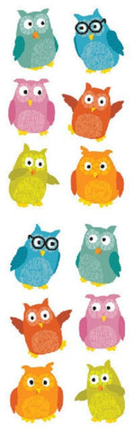 Mrs Grossman's Stickers - Chubby Owls