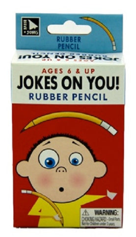 Jokes On You: RUBBER PENCIL Prank