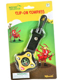 Clip-On Compass Backyard Exploration by Toysmith