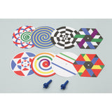 Color Blending Spin Wheels By Artec