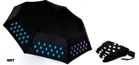 Colour Changing Umbrella - Color Changes when Wet