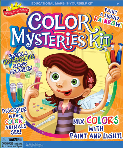Scientific Explorer's Color Mysteries Kit by Poof-Slinky