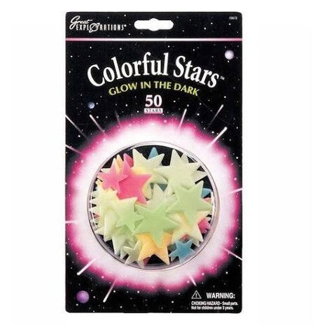 Colorful Stars Glow In the Dark