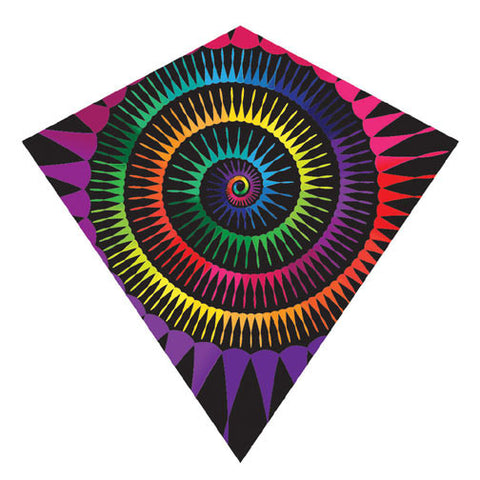 X Kites ColorMax Spiral Nylon Kite - 25 Inches Wide