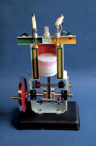 Gasoline Internal Combustion Engine Model - Four Cycle