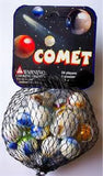 Comet Game Net Set 25 Piece Glass Mega Marbles