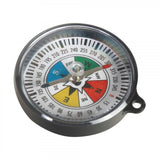 Educational Grade Plastic Magnetic Compass 55mm Diameter Science Classroom