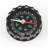 Liquid Filled Black Plastic Magnetic Compass 40mm - Pack of 10