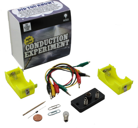 The Science Cube: Electrical Conduction Experiment Kit