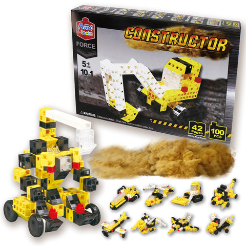 Artec Blocks FORCE Constructor 10 in 1 Set 100 Pieces