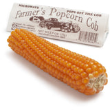 Farmers Popcorn Gourmet Treat: Pops off the Cob - Pack of 6 Cobs