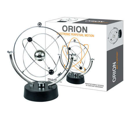 Orion - Revolving Cosmos Electronic Perpetual Motion Desktop Toy