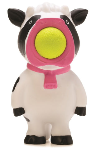 Keychain Cow Popper - Squeeze to Shoot!