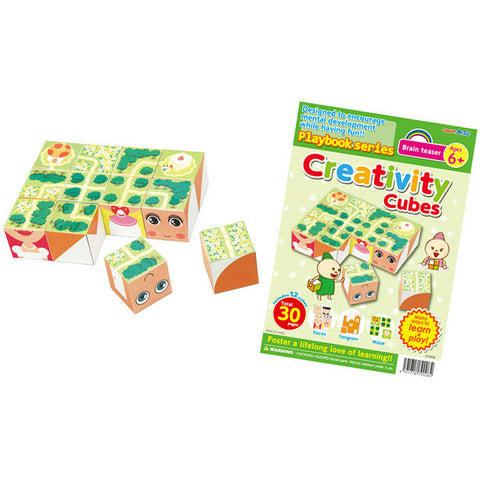 Creativity Cubes Brain Teaser Ages 6+ Playbook By Artec