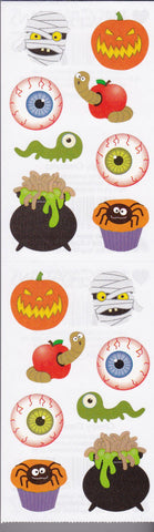 Mrs. Grossman's Stickers Halloween Creepy Creatures