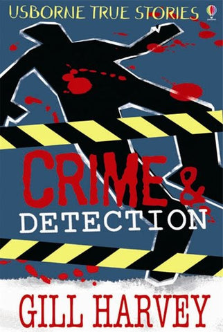 Usborne Book True Stories of Crime & Detection