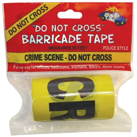 Crime Scene Do Not Cross Barricade Tape