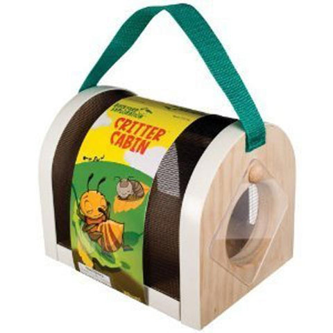 Critter Cabin Safe Bug Container By Toysmith
