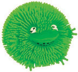 Set of 10 Wee Critter Puff: Fuzzy, Squishy Balls: 2.5 Inch Party Favors