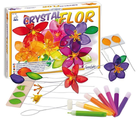 Crystal Flowers Craft Kit by SentoSphere