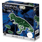 Original 3D Crystal 49-Pc Puzzle Deluxe T-Rex Model