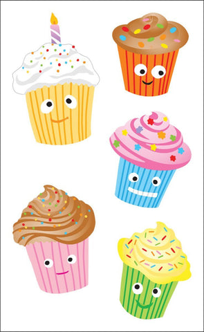 Mrs. Grossman's Stickers Cutie Cupcakes