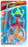 Cyclone Flyer Set Classic Whirligig Toy Colors Vary