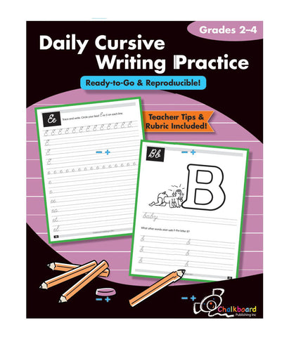 Daily Cursive Writing Practice - Grades 2-4